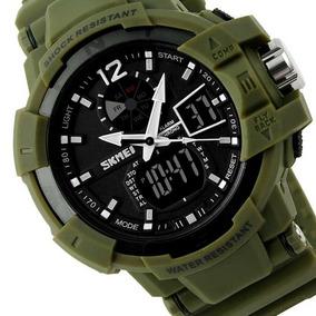 Relógio Skmei Militar Original Masculino É Resistente À Água