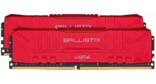 Imagem 1 de 1 de Memória Pc Gamer Crucial Ballistix Rgb Ddr4 16gb