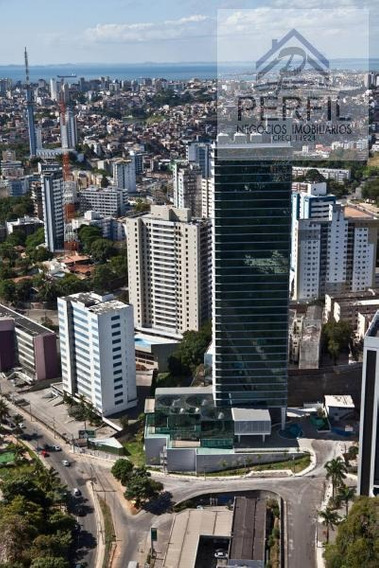 Sala Comercial Para Locação Em Salvador, Rio Vermelho, 1 Dormitório, 1 Banheiro, 2 Vagas - 728