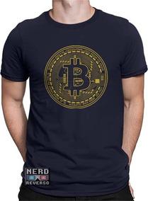 Camisetas Bitcoin Blockchain Criptomoeda Btc Foxbit