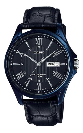 Reloj Casio Hombre Negro Mtp-1384bul-1avdf