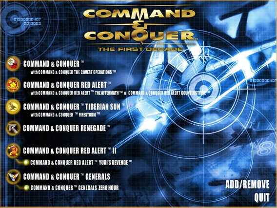 Command & Conquer The First Decade Em Inglês Pc
