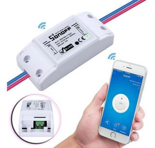 Interruptor Luz Con Celular Wifi Pared Sonoff Domótica 10amp
