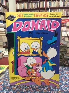 Pato Donald No 43 Historieta Disney Cómic Antiguo