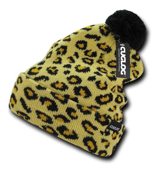 Gorro Invernal Beanie Leopardo Decky K040 Punk Iron Fist