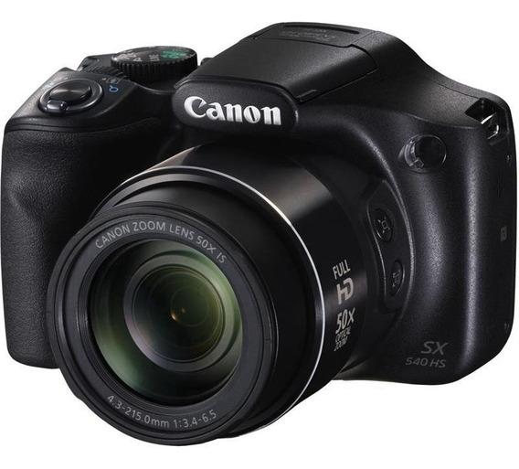 Câmera Digital Canon Powershot Sx540hs 20.3mp Nfc Wi-fi