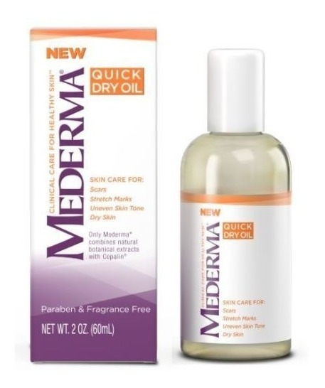 Mederma Quick Dry Oil- Oleo De Tratamento P/ Pele Seca