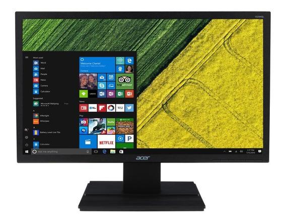 Monitor Acer 21,5pol. V226hql Hdmi Preto