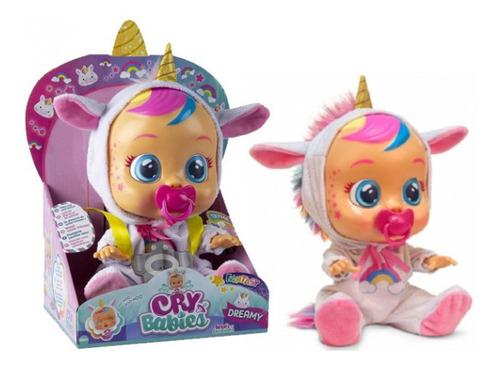 Cry Babies Unicornio Bebe Lloron Original Muñeca Llorona