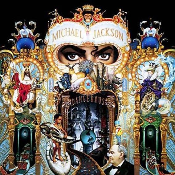 Cd Michael Jackson Dangerous 1981 Novinho Raridade Pop Rock