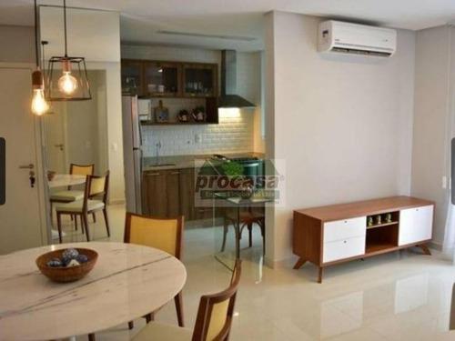 Imagem 1 de 8 de Apartamento Com 2 Dormitórios À Venda, 66 M² Por R$ 418.700 - Ponta Negra - Manaus/am - Ap2793