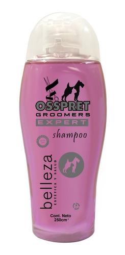 Shampoo Belleza Groomers Perros Y Gatos Osspret 250ml