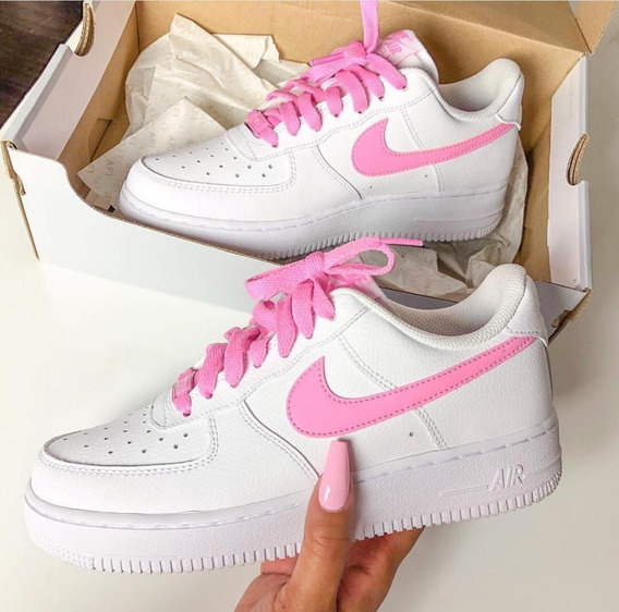 Tenis Zapatillas Nike Air Force One Mujer