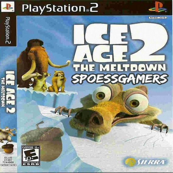 A Era Do Gelo 2 ( Ice Age 2 ) Ps2 Desbloqueado Patch