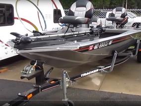 Bass Tracker Bote De Aluminio Lancha Pesca Pavon