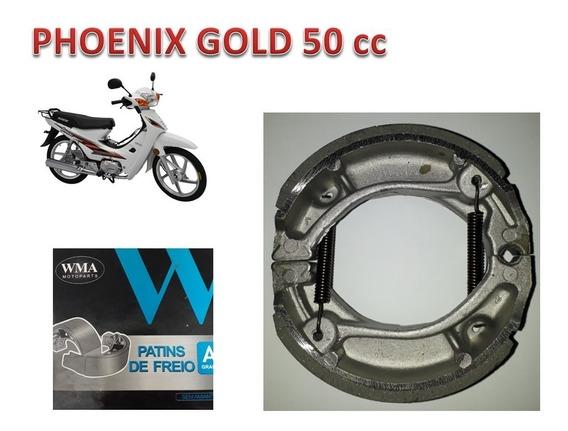 Sapata Lona Patim Fita De Freio Da Phoenix Gold Shineray