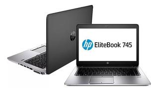 Laptop Hp Elitebook 745 G2 Amd A10 Ram 8gb Hdd 500gb Bt Wifi