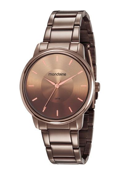 Relógio Mondaine Feminino Analógico Chocolate 53606lpmvme7