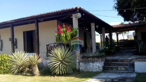 Chácara Com 5 Dormitórios À Venda, 7236 M² - Lagoa De Santo Antônio - Macaíba/rn - Ch0005