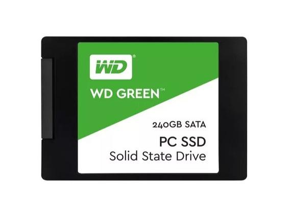 Ssd 240gb Western Digital Green (similar A Sandisk Kingston)