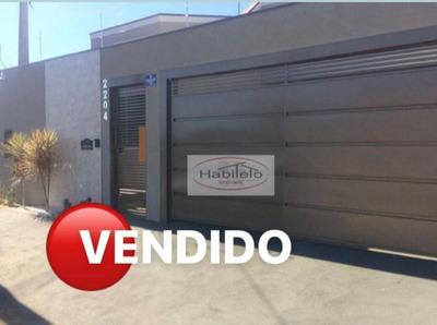 Casa Residencial À Venda, Jardim Das Oliveiras, Brodowski. - Ca0630