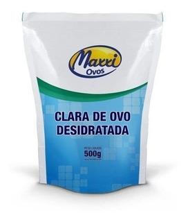 Albumina - Clara De Ovo Desid. 500g - Maxxi Ovos