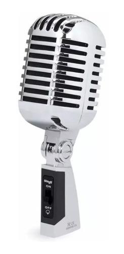 Imagen 1 de 3 de Microfono Tipo Vintage Stagg Sdmp40