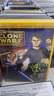 Star Wars The Clone Wars. Temporada 1 Vol 1. Dvd.