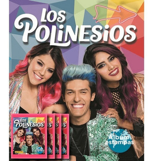Álbum Con Póster + 20 Estampas Los Polinesios. Envío Gratis