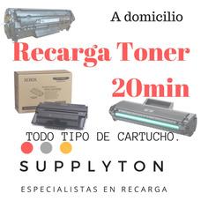 Recarga De Cartucho De Toner Samsung, Xerox, Hp, Canon.