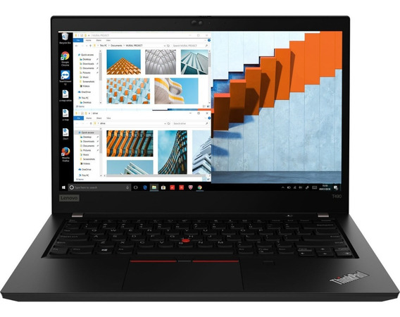 Notebook Lenovo Thinkpad T490 I7 8565u Ssd 256gb 8gb Win10 P