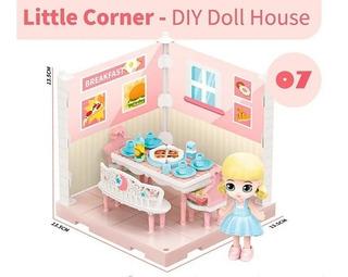 Little Corner 07 Muñeca Coleccionable Playset C/acc. Shine