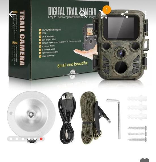 Mini Câmera Caça Armadilhas Armadilhas De Visão Noturna In