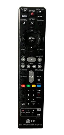 Controle Remoto Blu-ray / Home Lg Original Akb73775802