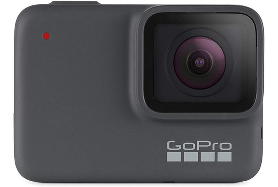 Gopro Hero7 Silver - Cámara De Acción Sumergible 4k Hd 10 Mp
