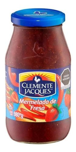 Mermelada Clemente Jacques Fresa 980 Gr