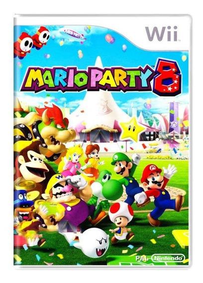 Mario Party 8 Wii Mídia Física Pronta Entrega