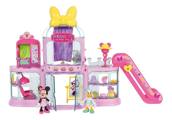 Shopping Mall Minnie Y Daisy Disney Luces Y Sonidos
