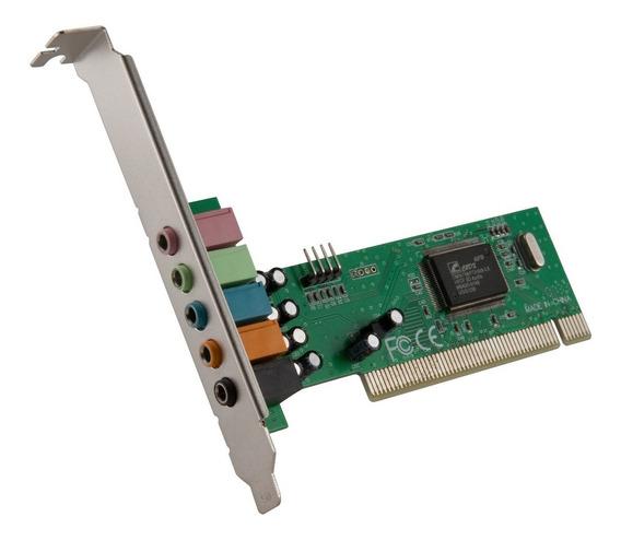 Placa De Som Pci 5.1 6 Canais Chipset:cmi8738