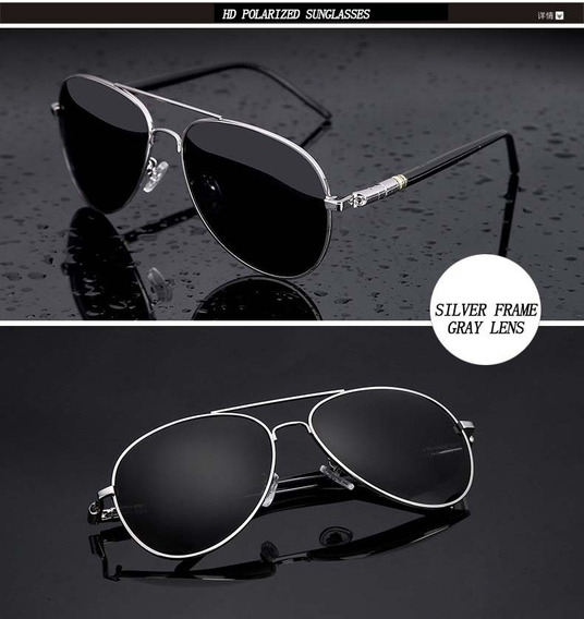 Óculos De Sol Masculino Modelo Aviador Barato.
