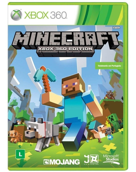Game Xbox 360 Minecraft - Original - Novo - Lacrado