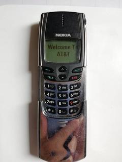Antiguo Celular Nokia 8860 Tecnologia Cdma Coleccion No Sim