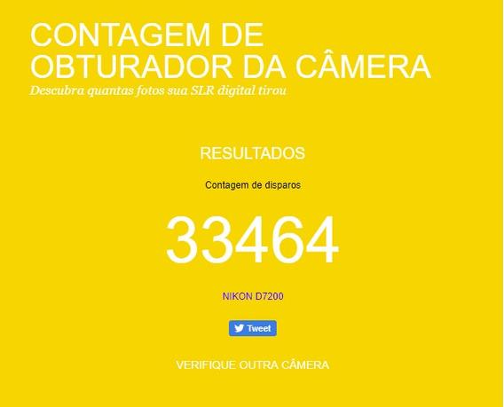 Vende Se Câmera Nikon D7200