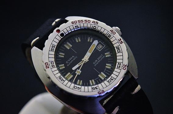Vintage Cyma Sub 300t Sharkhunter - Doxa - Synchron - Raro