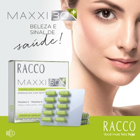 Maxxi 30+ - Fortalece Unhas E Cabelos - Racco