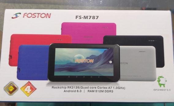 Tablet Foston Fs-m787 Android 6, 8gb, Novo, Promoção