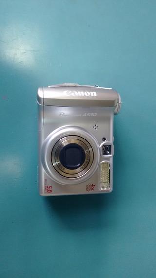 Câmera Digital Canon Powershot A530 (com Defeito)