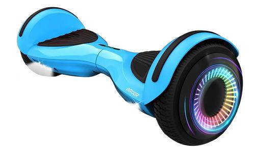 """Imagen 1 de 1 de Skate eléctrico hoverboard Gyroor G3 Blue 6.5"""""""