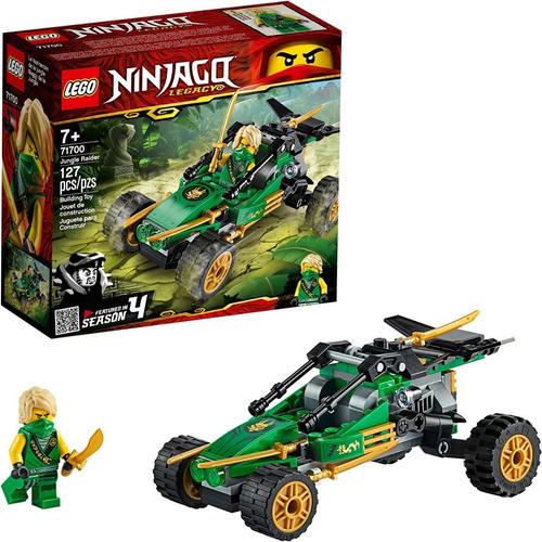 Lego Ninja  Kit De Construcción De Carrito Todoterreno 127pz