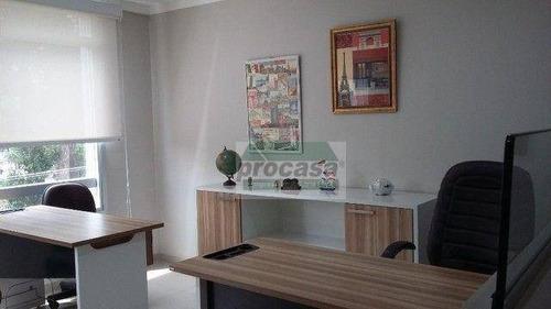 Imagem 1 de 7 de Belíssima Sala À Venda, Em Complexo Empresarial E Excelente Localização! 32 M² Por R$ 330.000 - Adrianópolis - Manaus/am - Sa0407